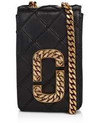 Marc Jacobs - Hotshot Small Leather Shoulder Bag - Lyst