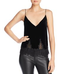 Cami NYC - Tyra Lace-hem Camisole Top - Lyst
