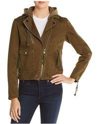Doma Leather - Appliquéd Army Jacket - Lyst