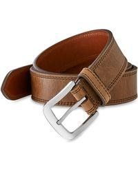 Shinola - Men's Double Stitch Belt - Lyst