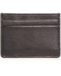 159bf4b685ac BOSS Boss Majestic 8 Card Leather Bifold Wallet in Black for Men - Lyst