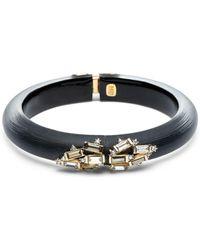 Alexis Bittar - Crystal Baguette Cluster Hinge Bracelet - Lyst