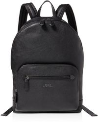 3dd51a78ad7a Polo Ralph Lauren - Pebbled-leather Backpack - Lyst