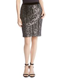 Karen Kane - Sequined Skirt - Lyst