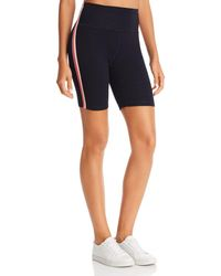 Sundry Rainbow - Striped Bike Shorts