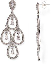 Nadri - Kite Chandelier Earrings - Lyst
