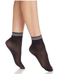 Pretty Polly - Diamond Fishnet Ankle Socks - Lyst