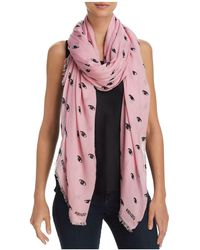 KENZO | Eyes All Over Scarf | Lyst