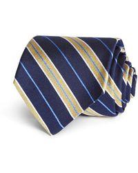 Brooks Brothers - Split Stripe Classic Tie - Lyst
