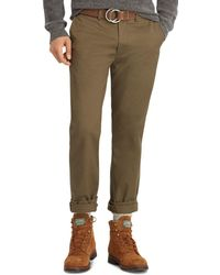 Polo Ralph Lauren - Polo Stretch Classic Fit Chino Pants - Lyst