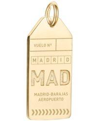 Jet Set Candy - Mad Madrid Luggage Tag Charm - Lyst