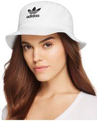 81363c36864 adidas Originals Pastel Reversible Bucket Hat Multi in Green - Lyst