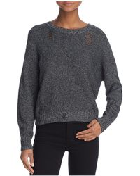 Guess - Threadbare Cropped Jumper - Lyst