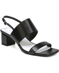 Via Spiga - Forte Block Heel Sandals - Lyst