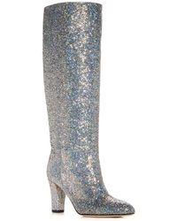 SJP by Sarah Jessica Parker - Women's Studio Glitter High - Heel Boots - Lyst