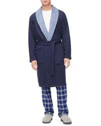 809652b573 Lyst - UGG Lightweight Alsten Jersey Robe in Gray for Men