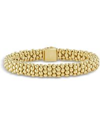 Lagos - Caviar Gold Collection 18k Gold Beaded Bracelet - Lyst
