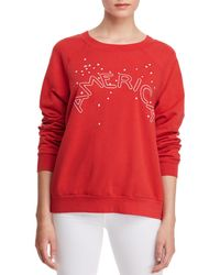 Project Social T - America Embroidered Sweatshirt - Lyst