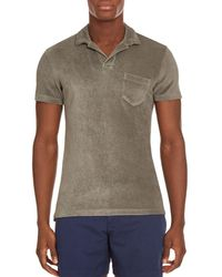 Orlebar Brown - Terry Towel Polo Shirt - Lyst
