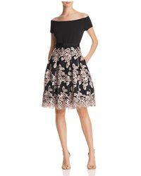 Eliza J - Off-the-shoulder Party Dress - Lyst