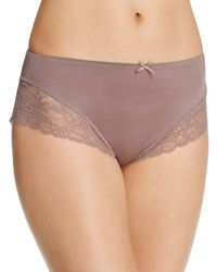 Fine Lines - Micro Stretch Galloon Lace Bikini - Lyst