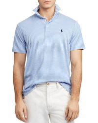 d3b65685 Lyst - Polo Ralph Lauren Men's Classic-fit Mesh Polo Shirt in Orange ...