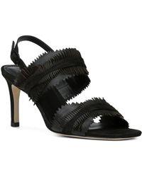 Donald J Pliner - Women's Kit Nubuck Leather Slingback Sandals - Lyst