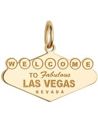 Jet Set Candy - Welcome To Vegas Sign Charm - Lyst