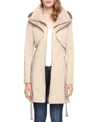 SOIA & KYO - Soia And Kyo Arabella Sculpted Raincoat - Lyst