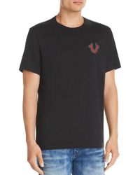 True Religion - Lit Skull Graphic Tee - Lyst