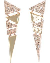 Alexis Bittar - Dangling Triangle Drop Earrings - Lyst
