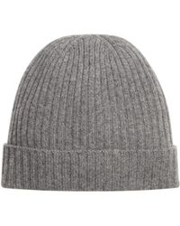 068a16928c8 Bloomingdale S Donegal Flecked Beanie in Gray for Men - Lyst