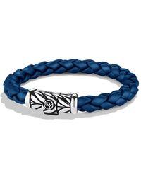 David Yurman - Chevron Bracelet In Blue - Lyst
