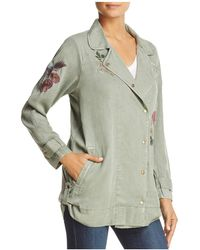 Billy T - Embroidered Moto Jacket - Lyst