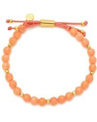 Gorjana - Power Coral Bead Bracelet - Lyst