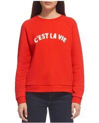 Whistles - C'est La Vie Sweatshirt - Lyst