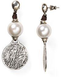 Uno De 50 - Alexandria Earrings - Lyst