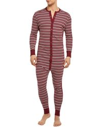 2xist - Long John Onesie Union Suit - Lyst