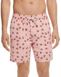 Barney Cools - Amphibious Watermelon Swim Trunks - Lyst