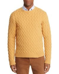 Brooks Brothers - Traveling Cable Sweater - Lyst