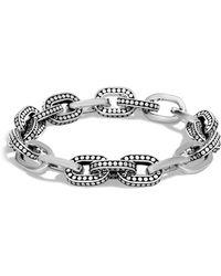 John Hardy - Sterling Silver Dot Small Link Bracelet - Lyst