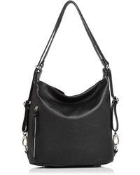 Aqua - Convertible Leather Hobo - Lyst