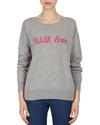 Gerard Darel - Fiona With Love Wool & Cashmere Sweater - Lyst