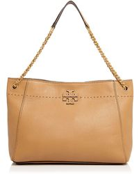 Tory Burch - Mcgraw Chain Shoulder Slouchy Tote - Lyst