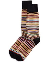 Paul Smith - Multicolored Stripe Socks - Lyst
