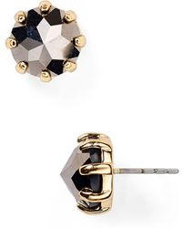 Rebecca Minkoff - Rhinestone Stud Earrings - Lyst