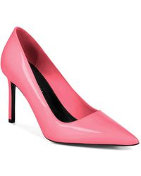 Via Spiga - Women's Nikole Patent Leather Stiletto Court Shoes - Lyst