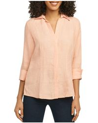 Foxcroft - Three-quarter-sleeve Shirt - Lyst