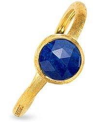 Marco Bicego - Jaipur Lapis Ring In 18k Yellow Gold - Lyst