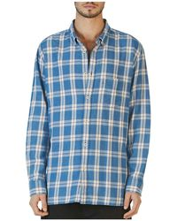 Barney Cools - Cabin Long Sleeve Plaid Relaxed Fit Shirt - Lyst